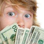 Как научить своих детей правильно обращаться с деньгами