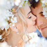 Модная свадьба: весенняя романтика