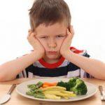 Когда ребенок отказывается есть овощи