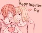 Поздравление в день святого Валентина