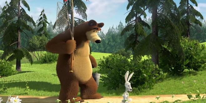 Маша и Медведь: развивающие игры для детей