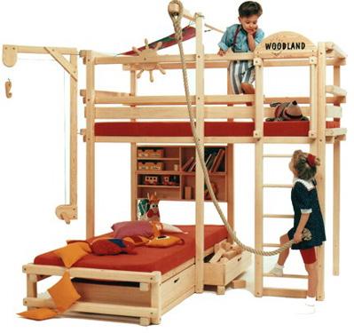 планировка детской комнаты для двоих детей