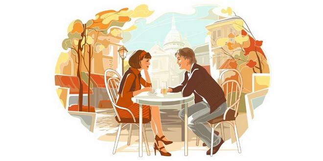 Столик на двоих плюс ароматный кофе