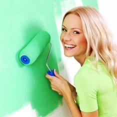 цвет стен в комнате